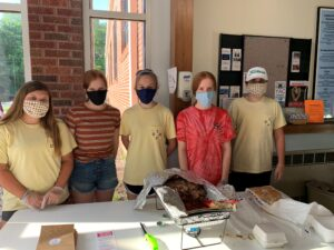 Youth serving at 'Dinners On Us'